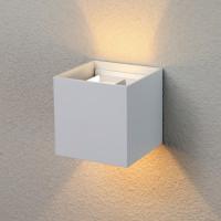 Уличный настенный светодиодный светильник 1548 TECHNO LED Winner белый