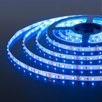 Лента светодиодная 60Led 4,8W IP20 синий (2835 12V 60Led 4,8W IP20)