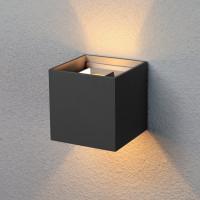Уличный настенный светодиодный светильник 1548 TECHNO LED Winner черный
