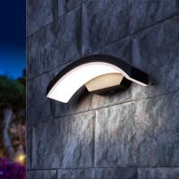 Уличный настенный светодиодный светильник 1671 TECHNO LED Asteria D