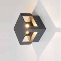 Уличный светодиодный светильник с поворотным механизмом 1606 TECHNO LED Tellus графит