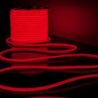 Гибкий неон LS003 220V 9.6W 144Led 2835 IP67 16mm круглый красный, 50 м