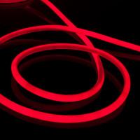 Набор гибкий неон LS002 220V 9.6W 120Led 2835 IP67 круглый красный, 10 м