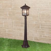 Уличный светильник на столбе IP44 GL 1021F Corvus F капучино
