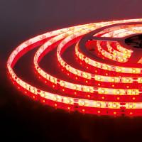 Лента светодиодная 60Led 4,8W IP65 красный (2835 12V 60Led 4,8W IP65)