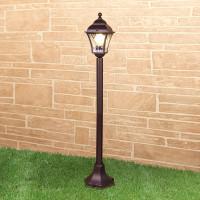 Уличный светильник на столбе IP44 GL 1009F Apus F шокола