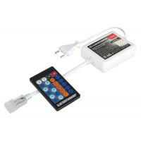 Контроллер одноцветный с радио пультом (24 кнопки) LSC 002 220V 3,5A 720W IP44