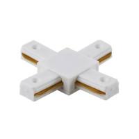 Соединитель X-образный однофазный CLT 0.211 04 WH Crystal Lux
