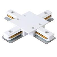 Коннектор X-образный CLT 0.2211 04 WH Crystal Lux