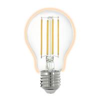 Лампа светодиодная филаментная диммируемая Eglo E27 6W 2700K прозрачная 11861