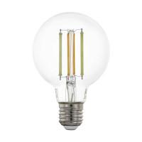 Лампа светодиодная филаментная диммируемая Eglo E27 6W 2200-6500K прозрачная 12575