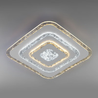 Потолочный светодиодный светильник с пультом управления 90211/1 белый Freeze