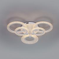 Потолочный светодиодный светильник с пультом управления 90226/6 белый Wellen