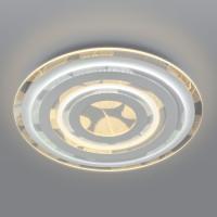 Потолочный светодиодный светильник с пультом управления 90220/1 белый Floris