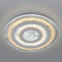 Потолочный светодиодный светильник с пультом управления 90209/1 белый Freeze
