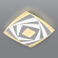 Потолочный светодиодный светильник с пультом управления 90213/1 белый Mare