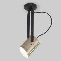 Настенный светильник 20092/1 черный/античная бронза Italio Eurosvet