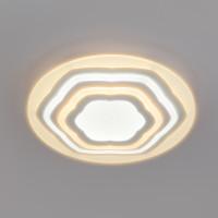 Потолочный светодиодный светильник с пультом управления 90117/4 белый Siluet