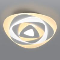 Светодиодный потолочный светильник с пультом управления 90212/1 белый Mare