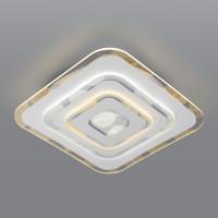 Потолочный светодиодный светильник с пультом управления 90222/1 белый Floris