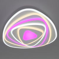 Потолочный светодиодный светильник с пультом управления 90225/1 белый Coloris