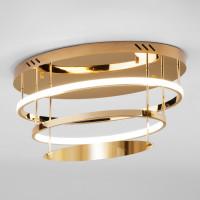 Потолочный светодиодный светильник с пультом управления 90160/2 золото Chic