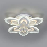 Потолочный светодиодный светильник с пультом управления 90227/6 белый Floritta