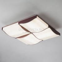 Светодиодный потолочный светильник Relief 90031/4 кофе 120W Eurosvet
