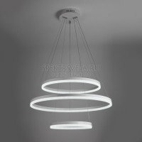 Светодиодный подвесной светильник Saturn 90078/3 белый 114W белый Eurosvet