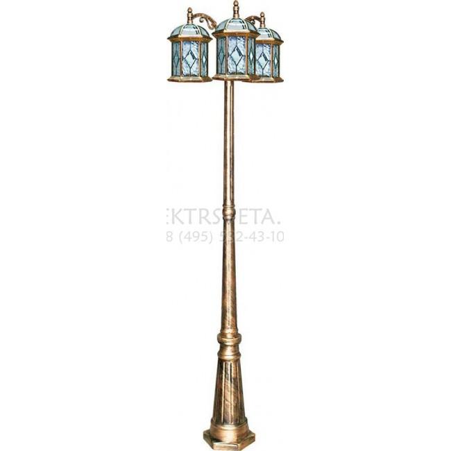 Фонарный столб Витраж с ромбом 11342 Feron