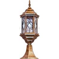 Наземный низкий светильник Витраж с ромбом 11346 Feron