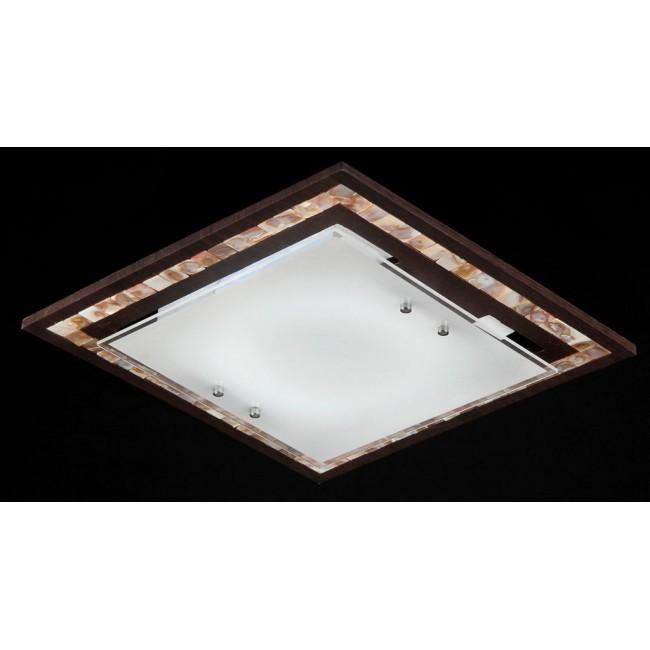 Люстра деревянная потолочная Maytoni Geometry C810-CL-03-R