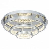 Светодиодная хрустальная потолочная люстра Dome FR6004CL-L35CH Freya