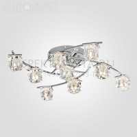 Светодиодная люстра с пультом Calipso 80105/9 хром Eurosvet