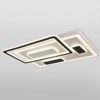 Светодиодная потолочная люстра с пультом управления Concord 90156/2 белый 286W Eurosvet