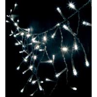 Светодиодная гирлянда бахрома 26747 CL17 3,5 м*0,5м статичное свечение 4000К белый Feron