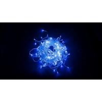 Светодиодная гирлянда дождь 32352 CL23 5,3м*0,7м статичное свечение синий Feron