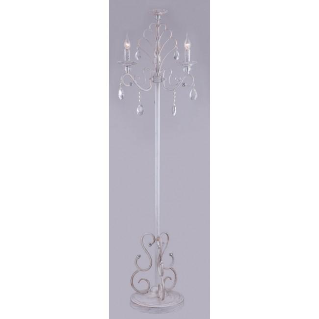 Торшер хрустальный Maytoni Elegant ARM430-33-WG