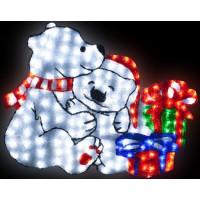 Панно световое (1.1x0.95 м) Мишки RL-A2D-01-110 RichLED