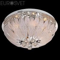 Светодиодная люстра с пультом 80013/8 хром/белый Eurosvet