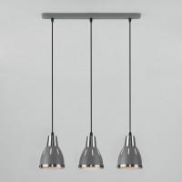 Подвесной светильник Nort 50173/3 серый Eurosvet