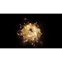 Светодиодная гирлянда дождь 32343 CL22 4,5м*0,7м статичное свечение 2700К теплый белый Feron