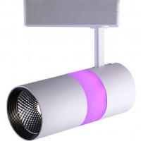 Светодиодный светильник трековый 32454 AL108 12+5W 4000К Feron