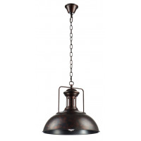 Светильник подвесной TOLEDO SP1 BROWN Crystal Lux