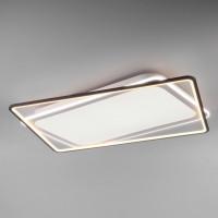 Светодиодная потолочная люстра с пультом управления Shift 90157/2 белый 217W Eurosvet