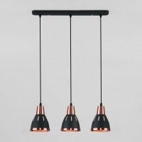 Подвесной светильник Nort 50173/3 черный Eurosvet