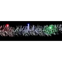 "Гирлянда ""мишура"", 20 LED мульти, батарейки 2*АА, 2м Feron"