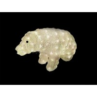 """Световая фигура """"медведь большой"""", 96 LED теплый белый, 50*25*30см Feron"""