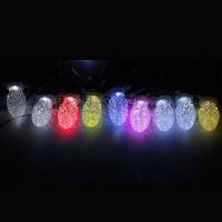 """Гирлянда """" шишки в яичной упаковке"""", 10 RGB LED, длина 4 м Feron"""