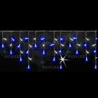 Бахрома световая (3x0.5 м) RL-i3*0.5F-CW/BW RichLED